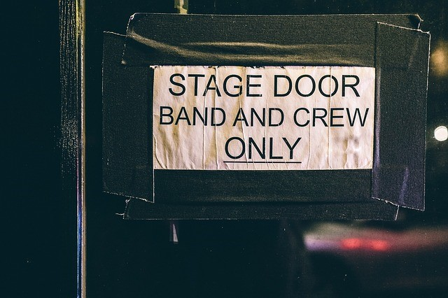 band and crew only